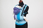 * LennyLamb Ergonomic Wrap Conversion Carrier - Baby - Finnish Diamond *CLEARANCE*