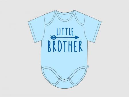 Itty Bitty Baby Little Brother Arrow Onesie (Size Preemie) *CLEARANCE*
