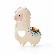 *Loulou Lollipop Llama Silicone Teether