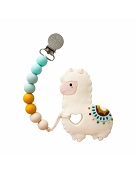 *Loulou Lollipop Llama Teether with Holder