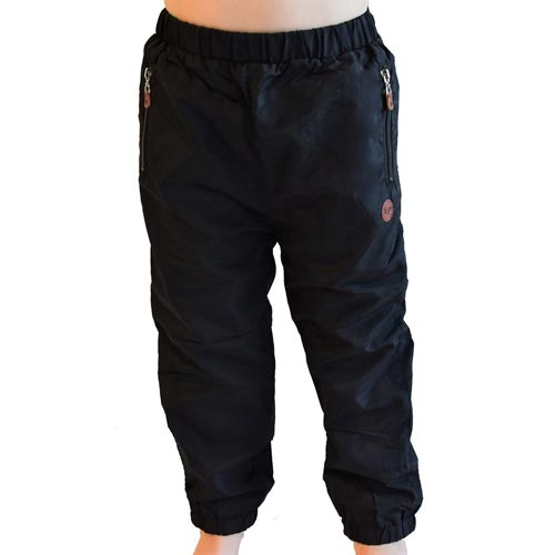 L&P Cotton Lined Outerwear Pants - Black (Size 6-12 Months)