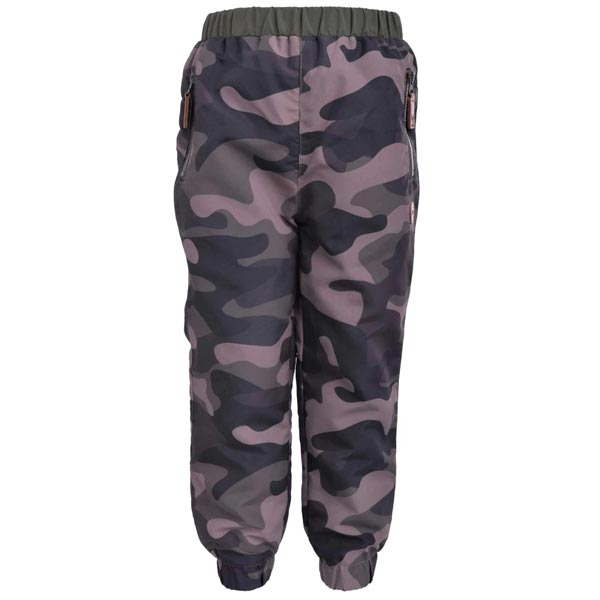 L&P Mid-Season Outerwear Pants Lined in Polar Fleece - Camo *CLEARANCE*