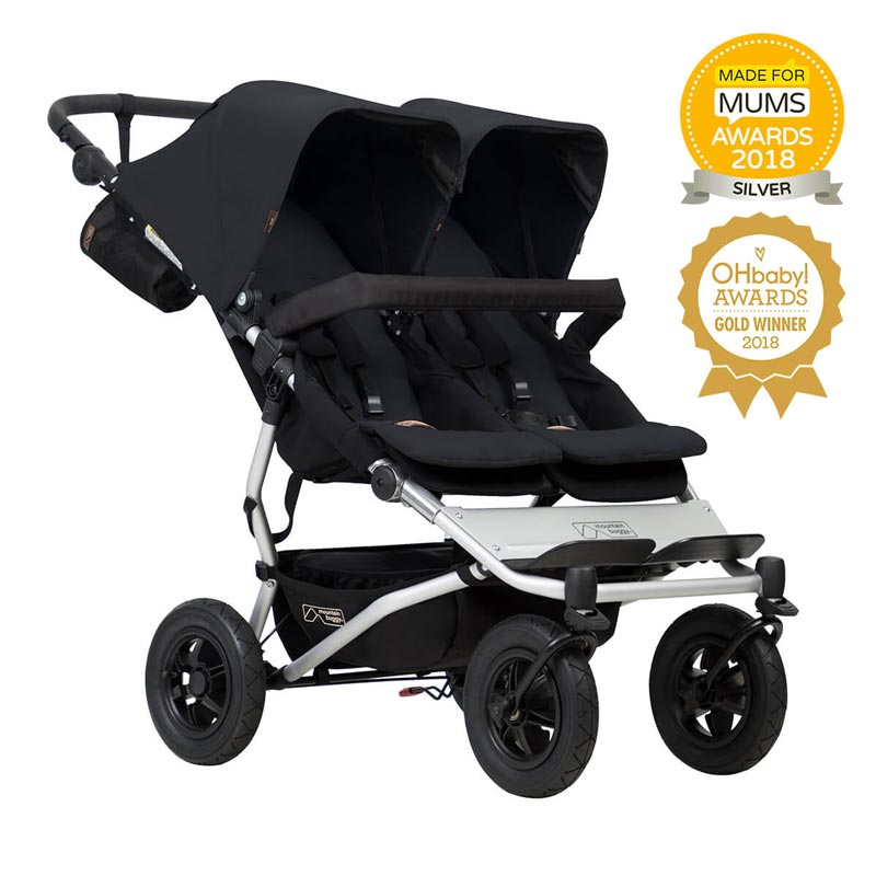 *Mountain Buggy Duet - Black