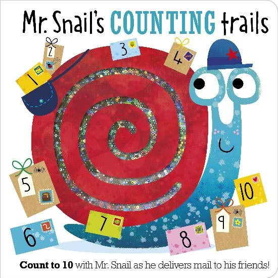 *Mr. Snail's Counting Trails Book