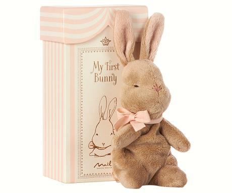 *Maileg My First Bunny in Box, Rose