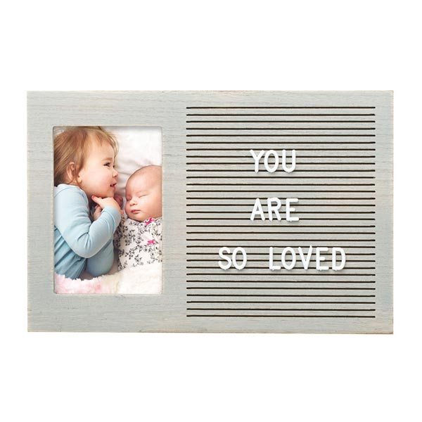 *Pearhead Letterboard Photo Frame