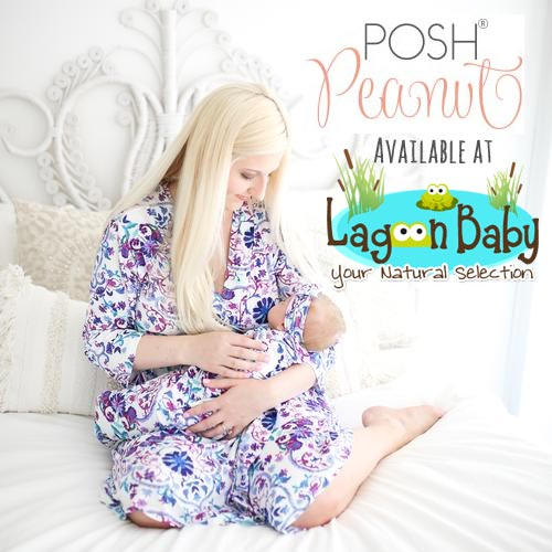 Posh Peanut Robes for Mother's Day at Lagoon Baby!