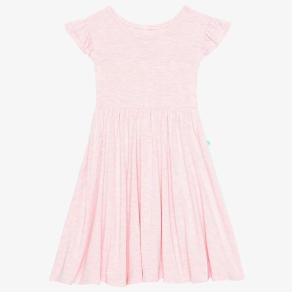Posh Peanut Pink Heather Twirl Dress