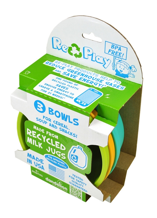 Re-Play Bowls - 3 Pack