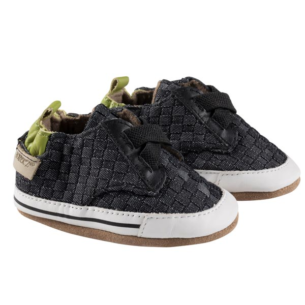 Robeez Navy Cool and Casual Soft Soles