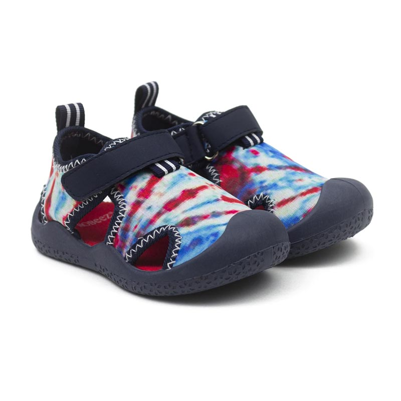 Robeez Remi Water Shoes - Navy Tie Dye