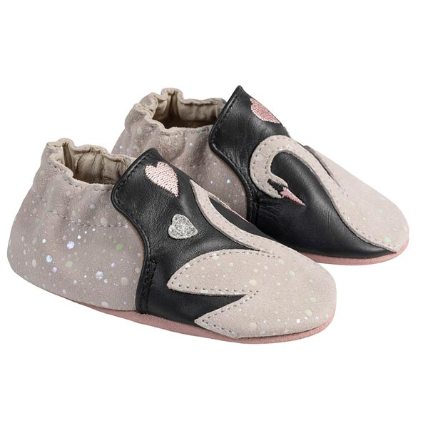 Robeez Grey Liam Soft Soled Shoes