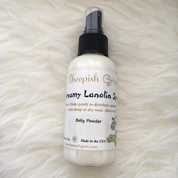 *Sheepish Grins Creamy Lanolin Spray (4.5 oz)