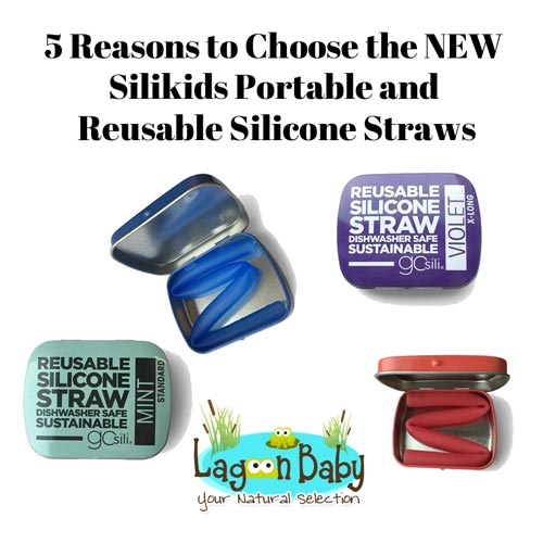 5 Reasons to Choose the NEW Silikids Portable and Reusable Straws - Lagoon Baby Blog