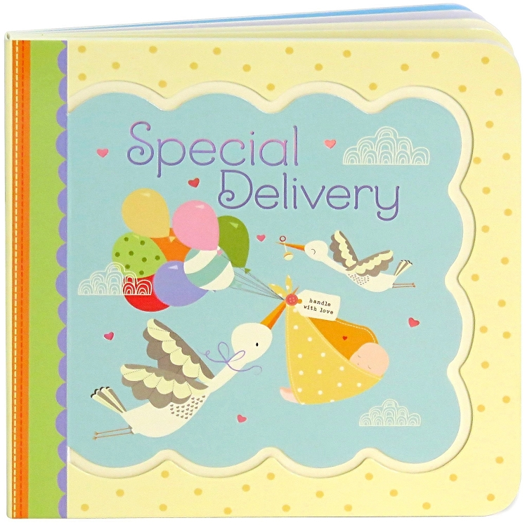 *Little Bird Greetings Keepsake Book - Special Delivery
