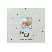 *Pearhead Baby Memory Book & Sticker Set Stars