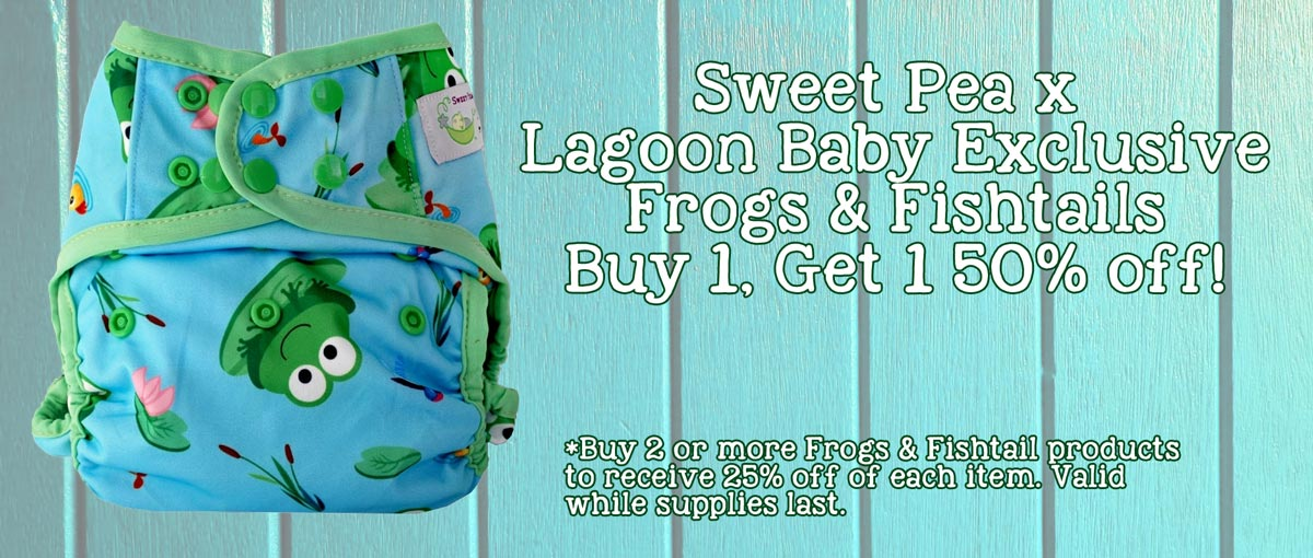 Sweet Pea x Lagoon Baby Exclusive - Buy More and SAVE!