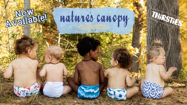 Thirsties Nature's Canopy Collection Now Available at Lagoon Baby!