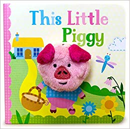 *This Little Piggy Finger Puppet Book