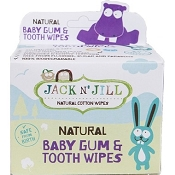 *Jack N' Jill Baby Tooth & Gum Wipes - 25 Pack