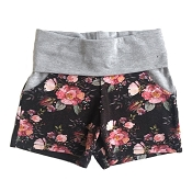 With Love By Ash Yoga Waist Shorts *CLEARANCE*