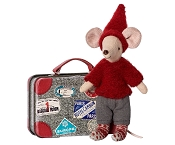 *Maileg Travel Pixy Mouse in Suitcase
