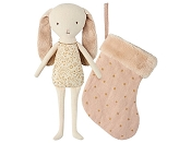 *Maileg Bunny Angel in Stocking (Powder)