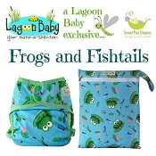 Sweet Pea x Lagoon Baby Frogs & Fishtails Exclusive Print