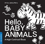 *Hello, Baby Animals- A High Contrast Book