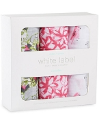 Aden + Anais White Label Classic Muslin Swaddles - 3 Pack