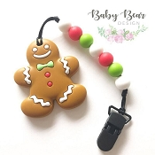*Baby Bear Design Gingerbread Teether