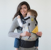 * LILLEbaby COMPLETE All Seasons Baby Carrier - Feather Soft