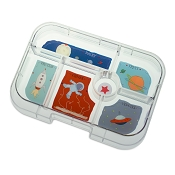 YumBox Original 6 Compartment Tray