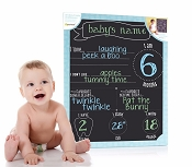 *Pearhead All About Baby Chalkboard