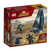*LEGO Marvel Super Heroes Outrider Dropship Attack