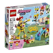 *LEGO Powerpuff Girl's Bubble's Playground Showdown
