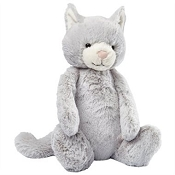 *Jellycat Bashful Grey Kitty - Medium