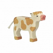 *Holztiger Standing Brown Calf