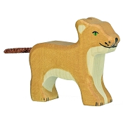 *Holztiger Small Standing Lion