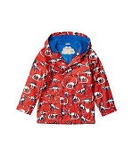 Hatley Kids Colour Changing Raincoat - Painted Dinos
