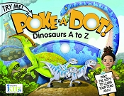*Innovative Kids Poke-A-Dot Poppers Book - Dinosaurs A to Z