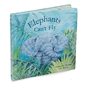 *Jellycat Elephants Can't Fly Book