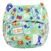Blueberry Simplex NEW ORGANIC All-in-One One-Size Cloth Diaper