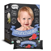 Nosh Baby Munchables Organic Rice Snacks - 13 Pack
