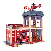 *Hape Fire Station