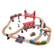 *Hape Busy City Rail Set
