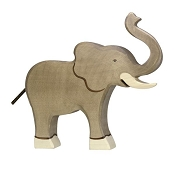 *Holztiger Elephant Trunk Raised