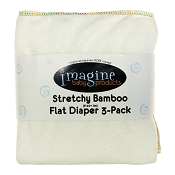 Imagine Baby Stretchy Bamboo Flats - 3 Pack