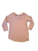 Urban Baby Apparel Edgy Thermal Tee - Blush (3-6 Months) *CLEARANCE*