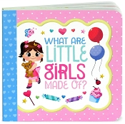 *Little Bird Greetings Keepsake Book - What Are Little Girls Made Of?